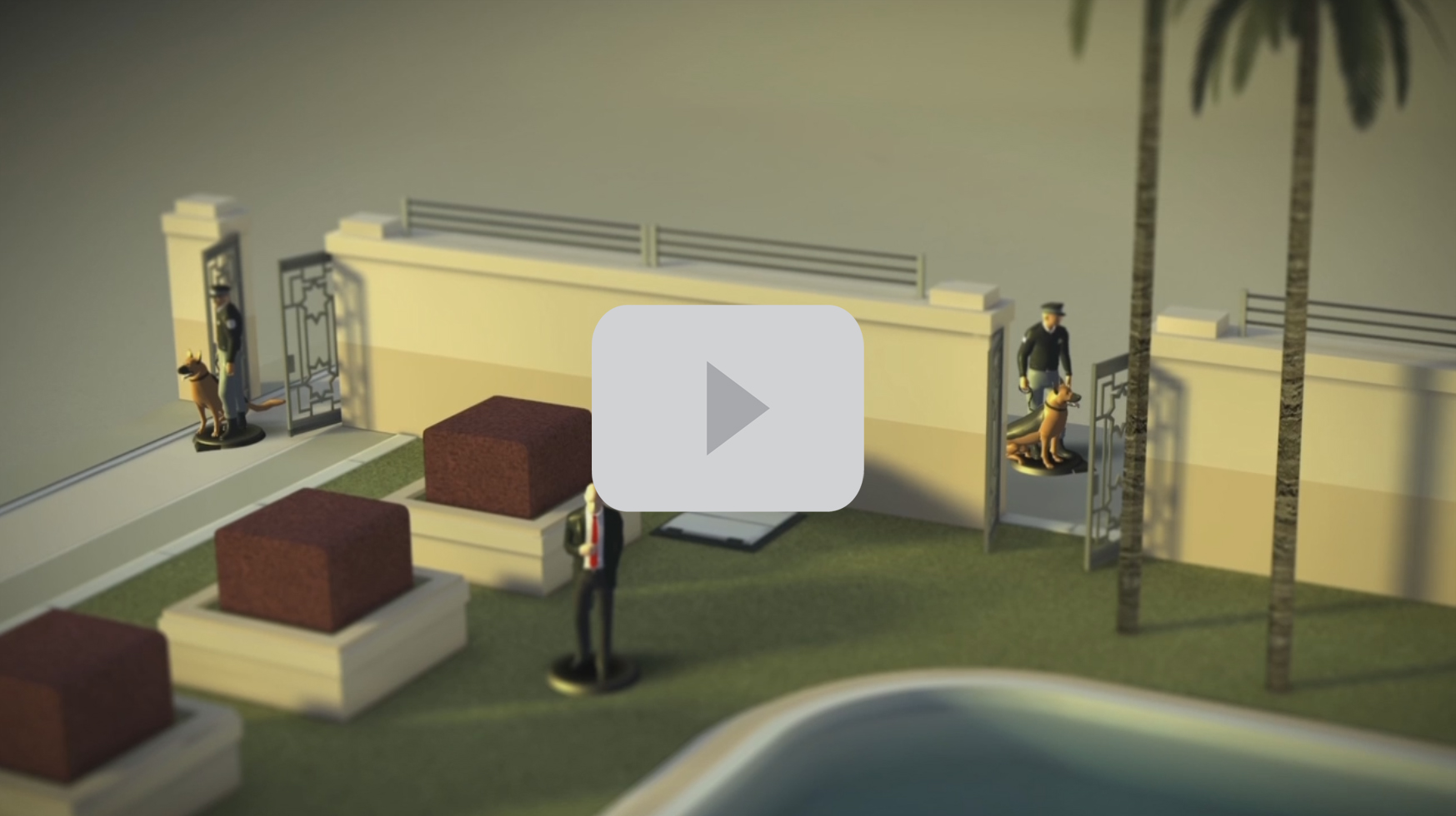 Hitman GO Trailer Still